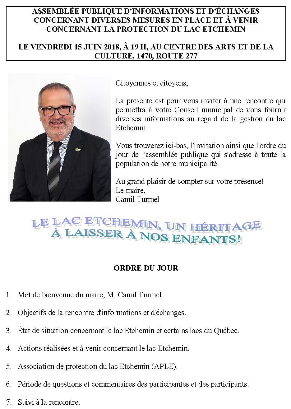 Invitation du maire